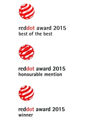 Red dot design award 2015!